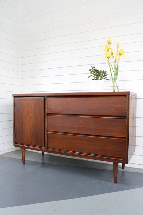 Refinishing A Mid Century Sideboard