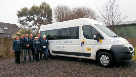 The Mersea Island Lions Club Community Bus