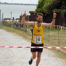 Overall Winner, James Smith - 1hr 26mins