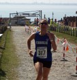 Charlotte Gregory - Ladies Winner 10 Mile race