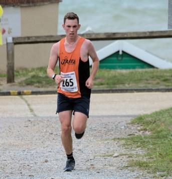 Paul Wain - !st Male Under 20, 10 Mile Race (01:00:40)