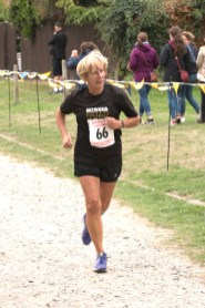 Carol Preston - 1st Lady 60+, 5 Mile Race (00:50:58)
