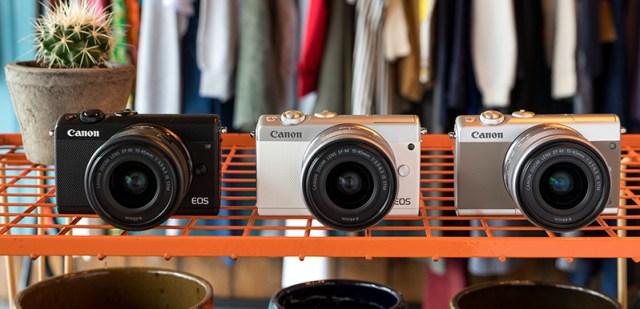 Canon EOS M100 Renk Seçenekleri
