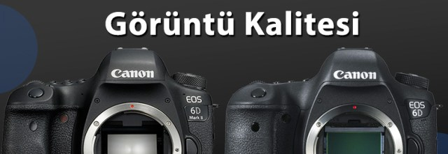 Canon 6D Mark II ve 6D