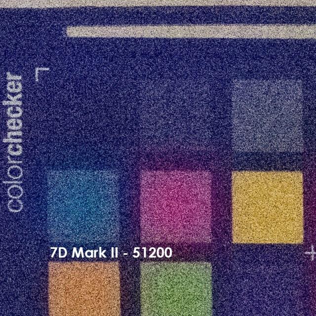 7D Mark II ve 80D ISO Testi