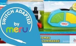 R/C Thomas the Tank Engine - Switch Adapted