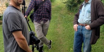Documentary Crew Completes Shoot with W.S. Merwin in France