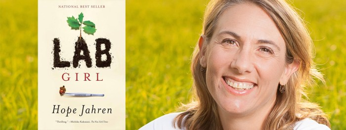 Hope Jahren, Author of Lab Girl