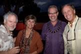Doug Schatz, Donna Howard, Jason Denhart, Jac Kean at Bill Porter in The Green Room