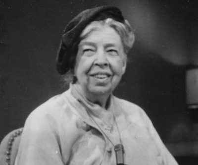 Eleanor Roosevelt, primera dama del mundo