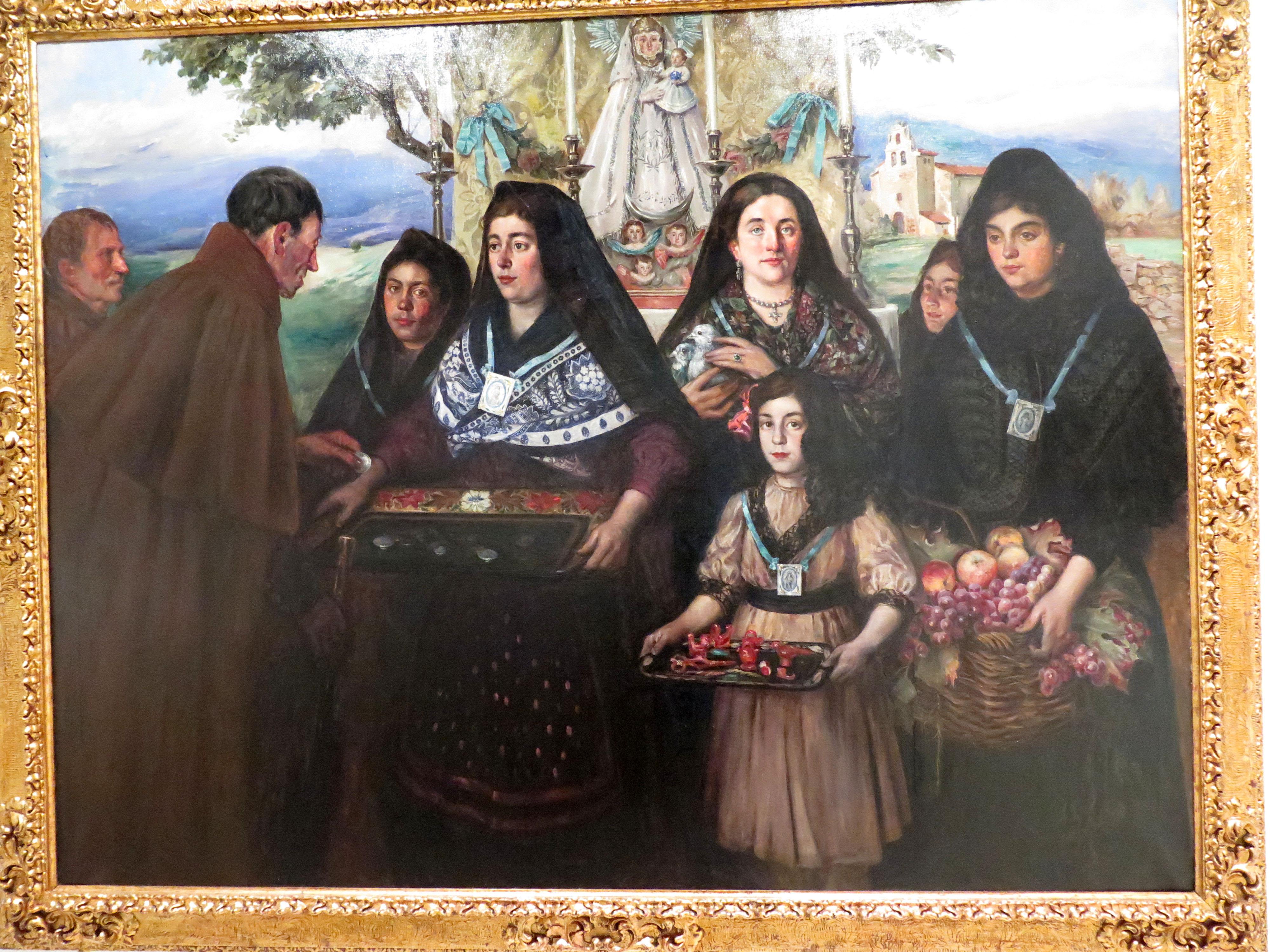 Encarnación Bustillo, pintora