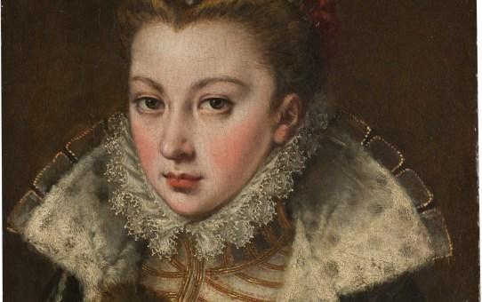 Isabel Sánchez (Coello), joven desconocida