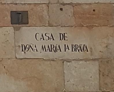 María de Monroy, la Brava