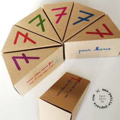 boîtes à bonbons pour les copines