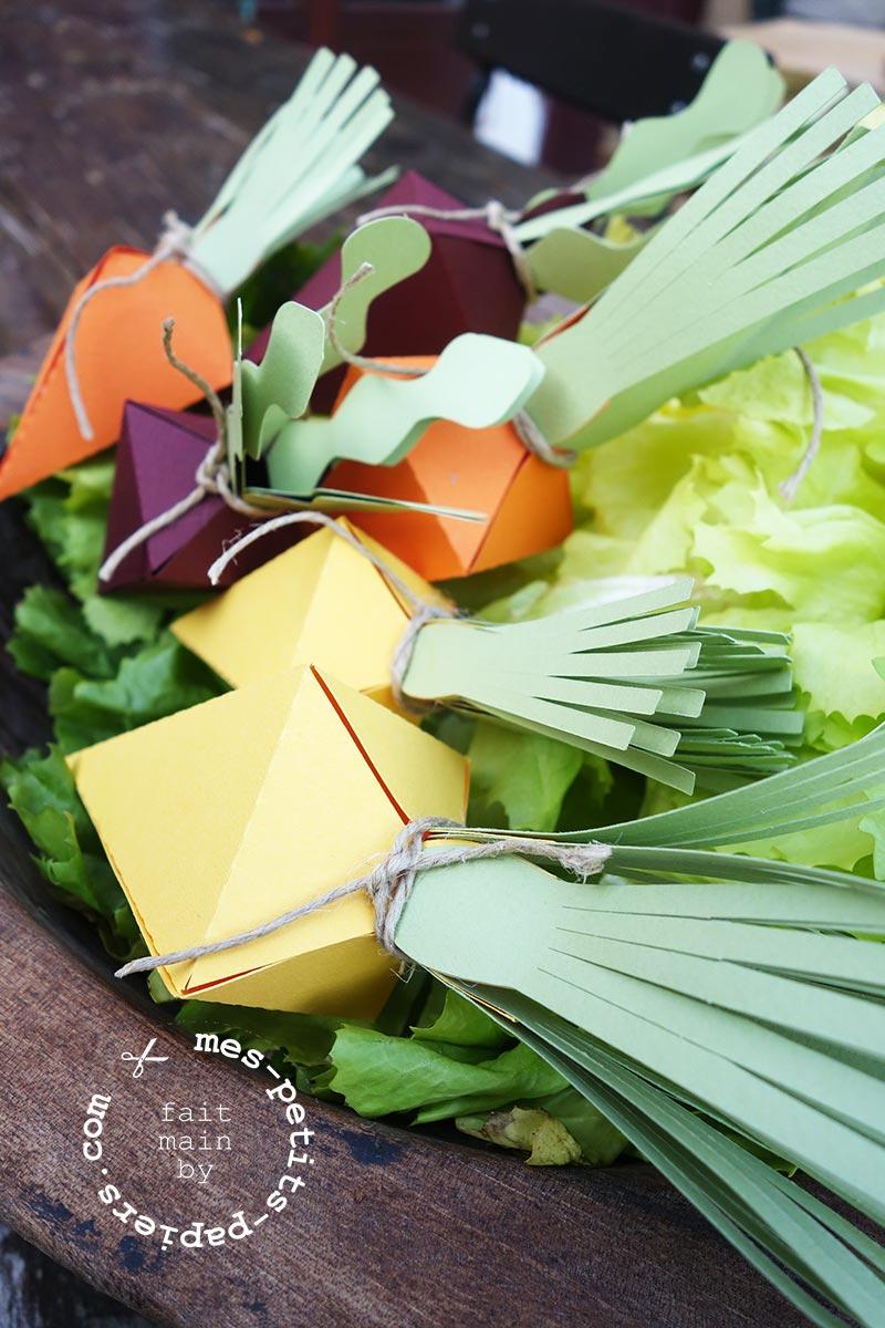 DIY de Pâques: Méli Mélo de carottes anciennes!