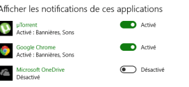 Windows 10 – Désactiver les notifications