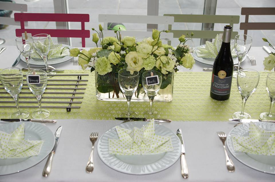 table communion vert