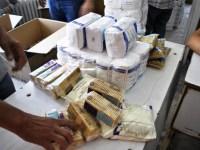 Începe distribuirea alimentelor din partea Uniunii Europene