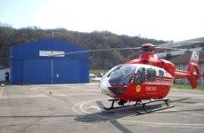 Intervenție cu elicopterul SMURD în munții Făgăraș