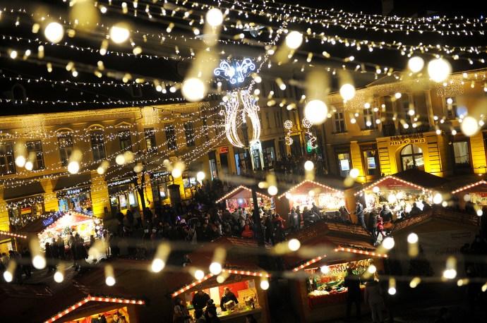 Târgul de Crăciun din Sibiu a ajuns la ediția a opta   foto: Silvana Armat