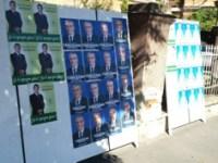 Spațiile de afișaj pentru alegerile parlamentare și delimitarea secțiilor de votare