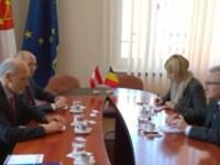 Ambasadorul Austriei, în vizită la Consiliul Județean Sibiu