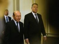 Întâlnire la Cotroceni între Băsescu și Iohannis