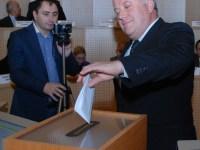 Șovăială primește atribuțiile de președinte al Consiliului Județean Sibiu, într-o ședință cu cvorum la limită