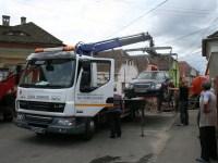 Spațiul de depozitare a mașinilor ridicate se mută într-un spațiu din cartierul Valea Aurie