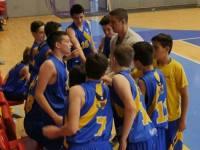 CSU Sibiu U14 a câștigat toate cele patrumeciuri ale turneului semifinal desfășurat în weekend