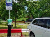 Sibiul are de astăzi o stație de încărcare a autovehiculelor electrice