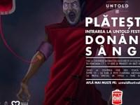 "UNTOLD, premiat la Cannes pentru campania ""PAY WITH BLOOD"""