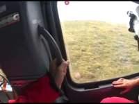 Turist salvat cu elicopterul din zona Lacului Avrig