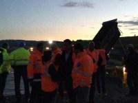 Șeful CNADNR, după inspecția pe șantier: autostrada Sibiu – Orăștie ar putea fi redată traficului în jur de 10 octombrie