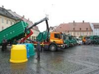 Colectarea selectivă a deșeurilor începe cu stângul! Municipalitatea sibiană, nemulțumită de operatorul de salubritate