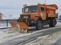 SC Drumuri și Poduri SA Sibiu a pregătit 67 de utilaje, patru transportoare de mare capacitate și mii de tone de material antiderapant