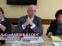 Noul ambasador al Germaniei promite să sprijine programul Sibiu – Regiune Gastronomică Europeană 2019 | VIDEO