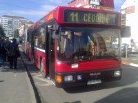 Flota de autobuze Tursib, modernizată iar pe datorie