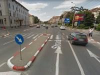 Bătrână accidentată pe trecerea de pietoni, pe strada Bâlea | ACTUALIZARE
