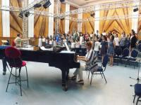 Concert de muzică contemporană, la Biserica Evanghelică din Sibiu