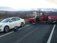 Șapte autoturisme s-au tamponat pe DN7 și DN1 | FOTO