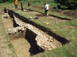 Peste 300 de situri au fost identificate pe traseul vechii graniţe a Imperiului Roman