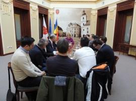 Întâlniri organizatorice pentru summitul european de la Sibiu