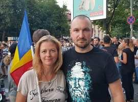 Liberal din Sibiu, participant la mitingul din Piața Victoriei: Ne-au fugărit ca pe câini!