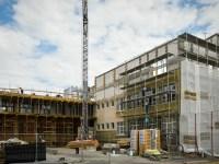 """Șantierul de la școala """"Regina Maria"""" ar fi trebuit să se încheie la 31 decembrie 2018"""