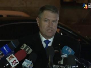 REACȚIA lui Iohannis, întrebat dacă soția sa va merge la audierile de la Parchetul General