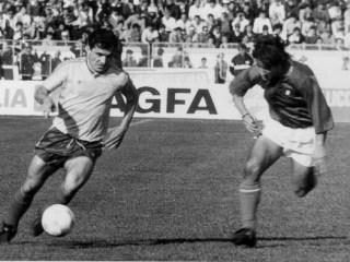 Meciul de la Sibiu poate fi înscris pe certificatul de naștere al celei mai bune generații din istoria fotbalului românesc, în centrul căreia avea să stea Gică Hagi / foto: Gazeta sporturilor