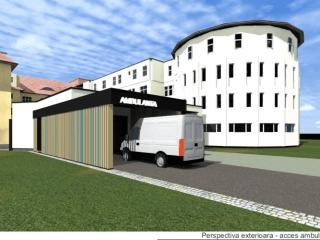 Bani europeni pentru modernizarea Unității de Primiri Urgențe de la Spitalul Județean Sibiu