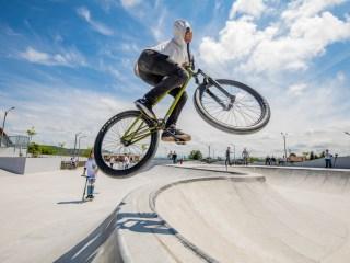 Cel mai mare skate-park din ţară, inaugurat la Sibiu, în urma unei investiţii de un milion de euro | GALERIE FOTO