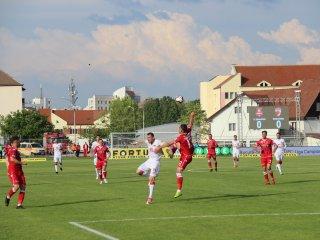FC Hermannstadt a câștigat cu Dinamo un punct important pentru salvarea de la retrogradare / foto: Cosmin Călinescu